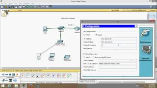Cisco Packet Tracer Basic Networking - Wireless Networking