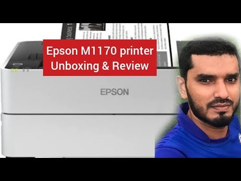 Unboxing & Installation of Epson M1170 and Malayalam Review 100 %II