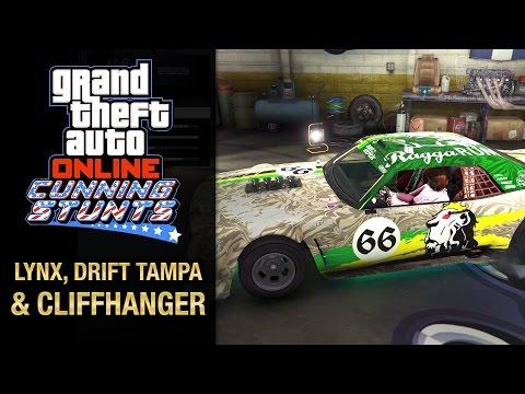 GTA Online: Cunning Stunts - Declasse Drift Tampa, Western Cliffhanger & Ocelot Lynx