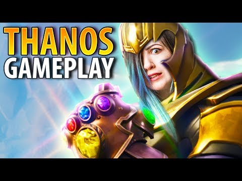 BECOMING THANOS  In Fortnite! | Infinity Gauntlet Gameplay