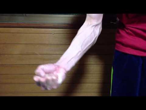 よく見える、腕の血管 (1) 前腕
