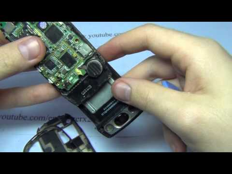 Samsung SGH-D500 Disassembly Energizerx2