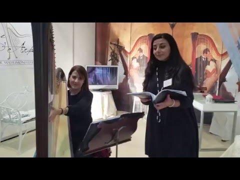 Ave Maria F. Schubert Duo arpa e soprano.