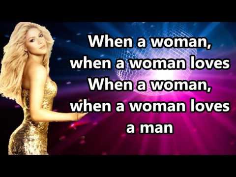 Shakira - When A Woman (Lyrics)