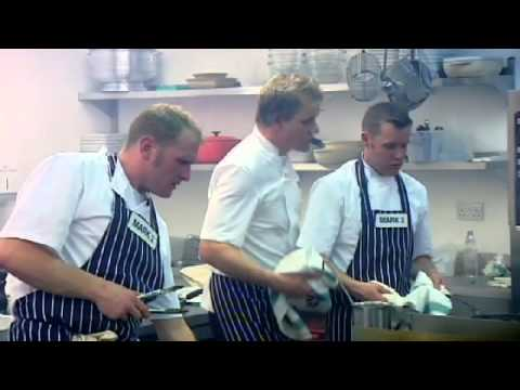 Chef Ramsay tells Amateur to cool it - Gordon Ramsay