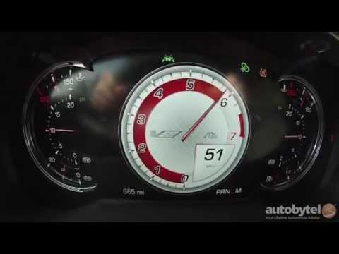 2016 Cadillac CTS-V 0-60 MPH Test Video – 200 MPH 640 Horsepower Supercharged V8