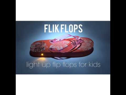 FLIK FLOPS: Light Up Flip Flops for Kids