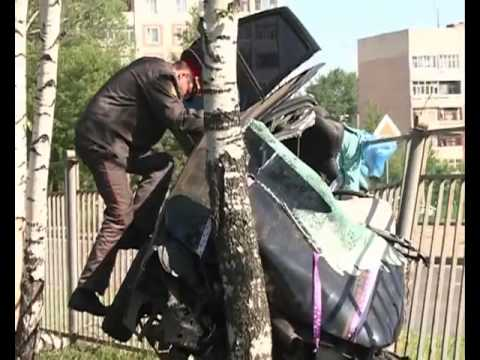 ДТП на проспекте Фрунзе #2 (Дядьково, Ярославль)