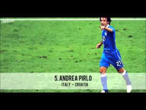 UEFA EURO 2012  TOP 10 GOALS