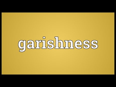 Header of garishness