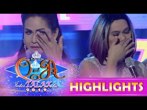 It's Showtime Miss Q and A: Resbekers gets emotional on It's Showtime