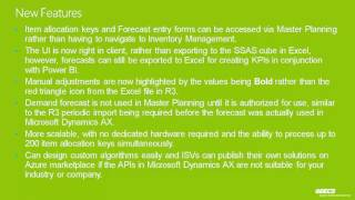Microsoft Dynamics AX-Demand-Forecasting -