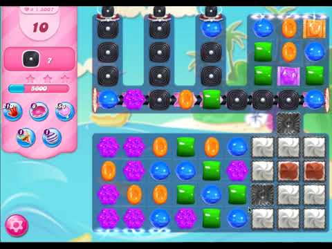 Candy Crush Level 3007 (no boosters, 3 stars)