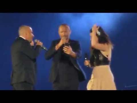 Laura Pausini ft Eros Ramazzotti ft Biagio Antonacci - Tra te e il mare - San Siro - 31/05/2014