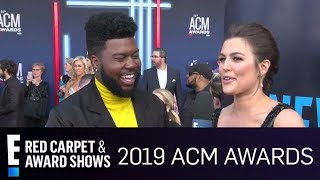 Khalid Dishes on Performing With Kane Brown at His First ACM Awards | E! Red Carpet & Award Shows