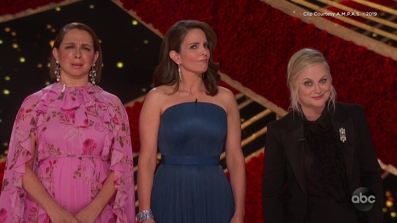 Tina Fey Maya Rudolph And Amy Poehler S Oscars 2019