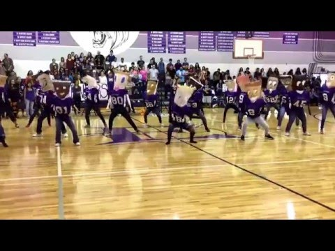 Elgin high school pillow people (dance)