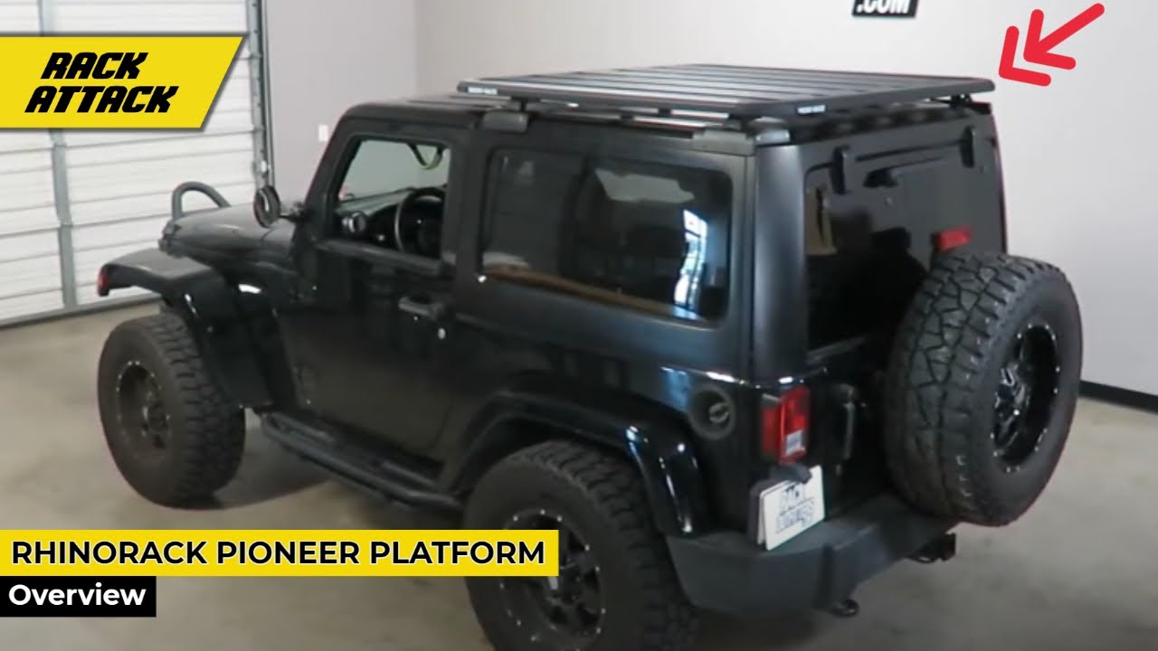 Jeep Wrangler Jk 2 Door Hardtop With Rhino Rack Pioneer
