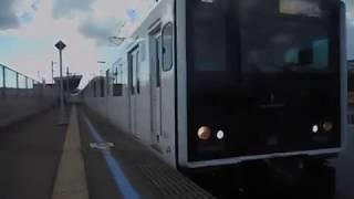 福岡市営地下鉄空港線直通快速列車(305系)・和多田駅を発車