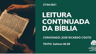 LEITURA CONTÍNUA DA BÍBLIA
