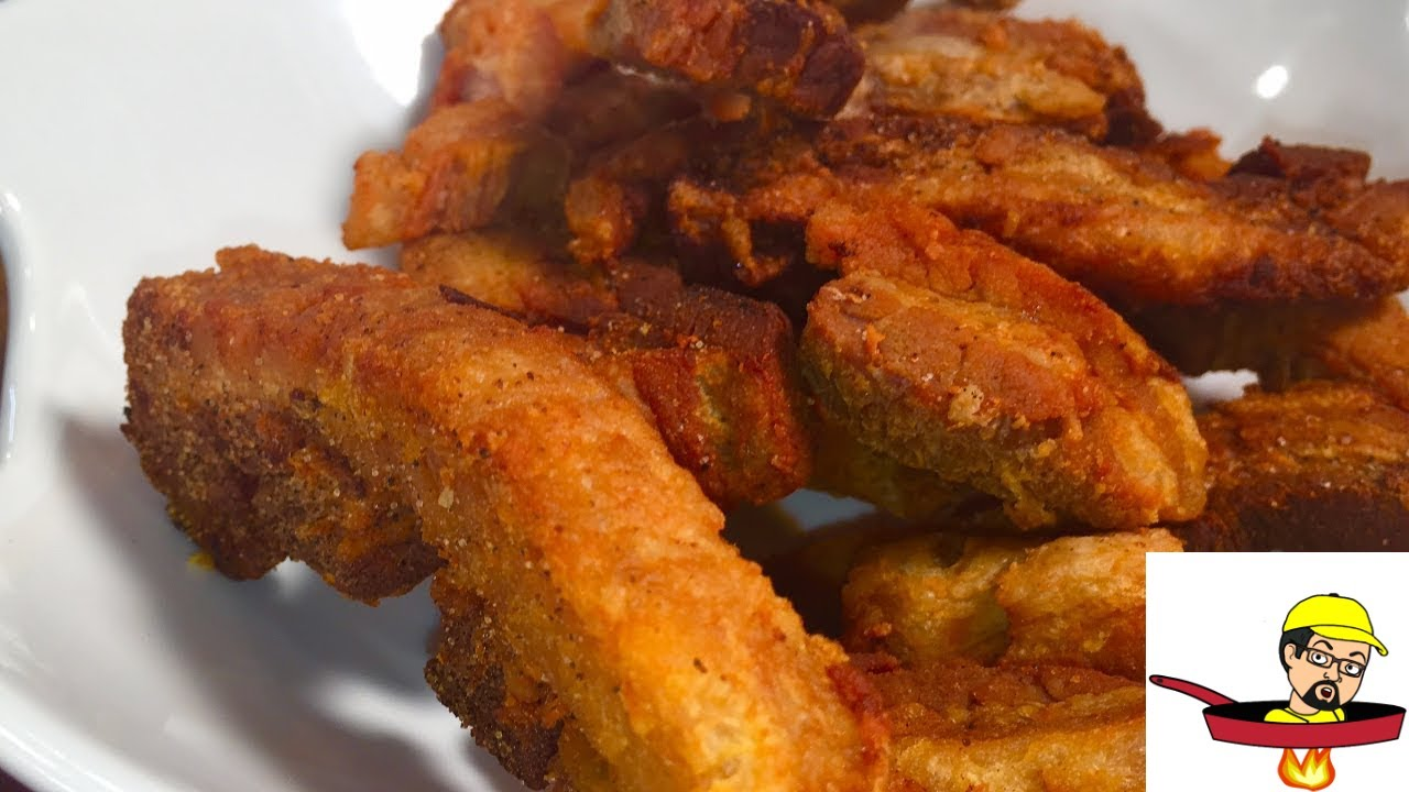 How To Make Chicharrones (Cracklings) - YouTube