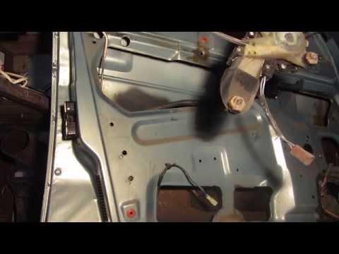 Как снять электростеклоподъемник ваз 2114 видео