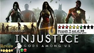 Injustice Gods Among Us Ultimate Edition Gameplay Review
