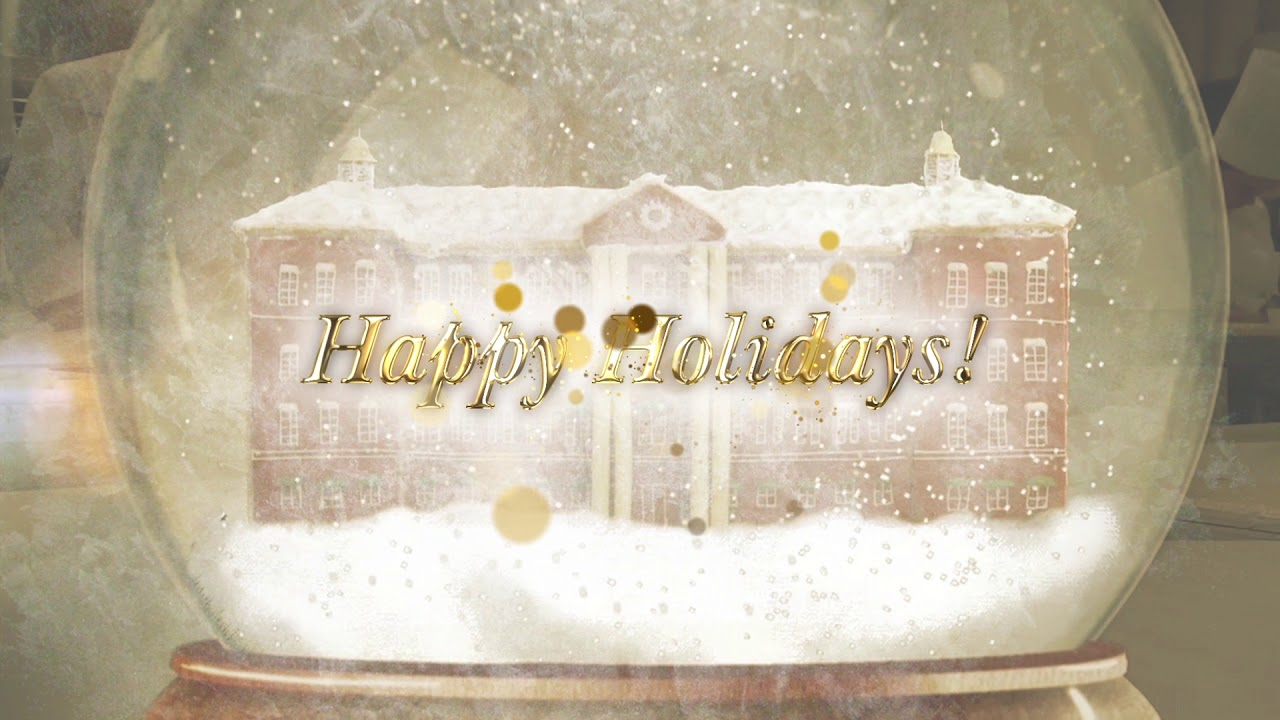 Happy Holidays! Rock Our Gingerbread House Recipe | CIA