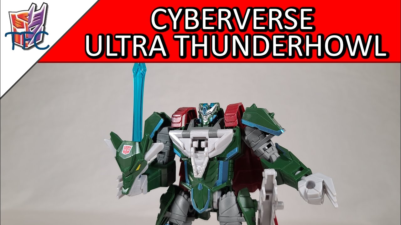 TF Collector Cyberverse Ultra Thunderhowl Review!