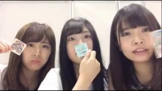 2017.06.11 SHOWROOM AKB48イベント HKT48 本村碧唯、渕上舞、坂口理子 ...