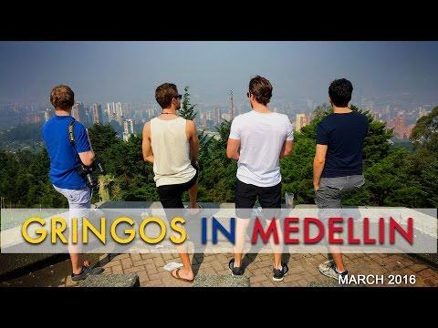 Colombros Trip 2016   Gringos in Medellin