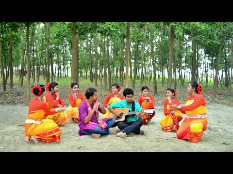 Utton Pege Meghe Meghe - Traditonal Chakma Song | SAMPAN | Folk Studio Bangla New Song  2018