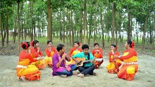 Utton Pege Meghe Meghe Traditonal Chakma Song | SAMPAN | Folk Studio Bangla New Song 2018