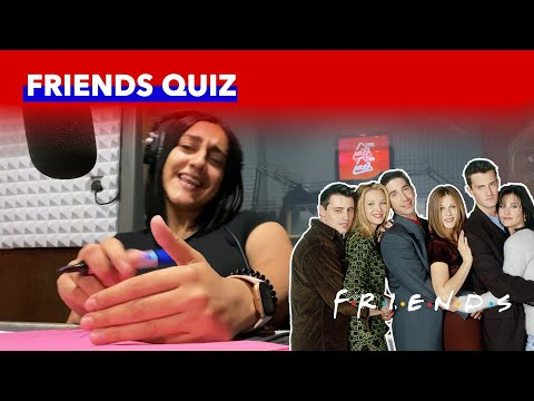 Daniel & Ylenia Give The Friends Quiz A Go from YouTube · Duration:  3 minutes 37 seconds