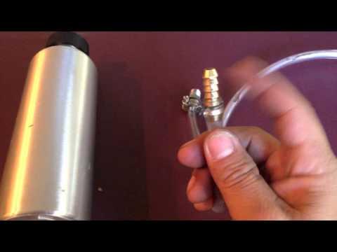 hose hook up outboard motor