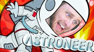 ASTRONEER   DEADLY RED PLANET OF DEATH!! [4]