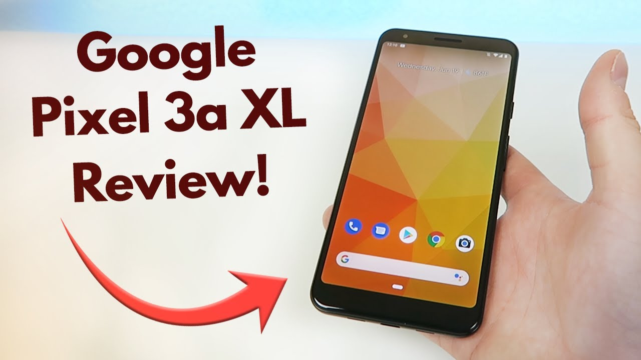 Impressions of Google Pixel 3a XL