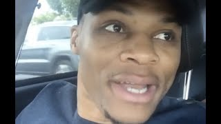 Russell Westbrook Reacts To Carmelo Anthony Trade Dances To Lil Uzi Vert #AllUrbanCentral