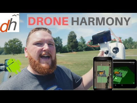 DJI Go App Android Alternative - Drone Harmony Flight Planner App