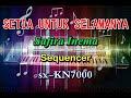 Safira Inema - Setia Untuk Selamanya  Remix karaoke sx-KN7000