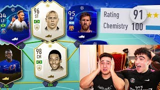 191 RATED?! - FIFA 19 BREAKING 190 FUT DRAFT RECORD! w/ ANESONGIB!