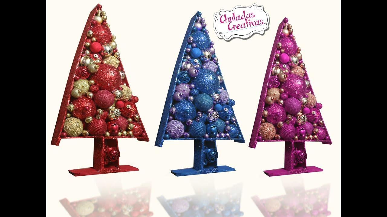 Chuladas creativas arbolito navidad decoraci n - Arbolito de navidad ...