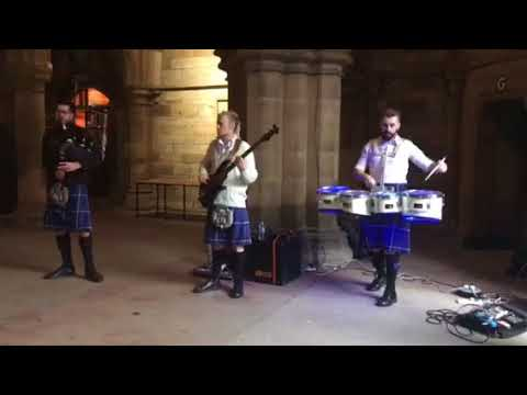 Saltire Beat @ University of Glasgow