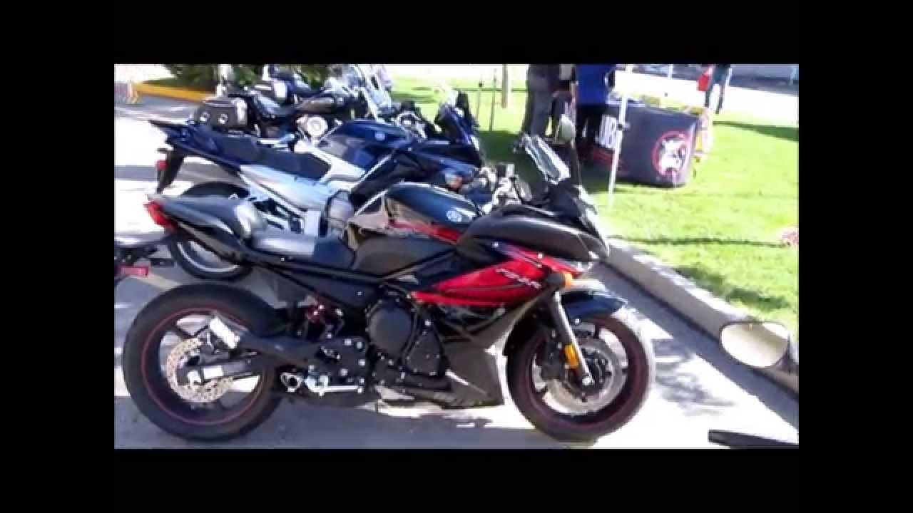 Yamaha FZ6R 2012 - YouTube