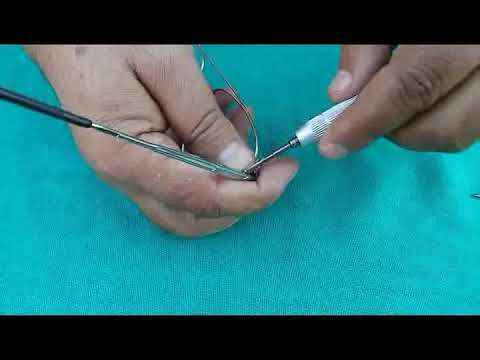 364141f033 How to repair broken spring hinge in spectacle glasses - YouTube