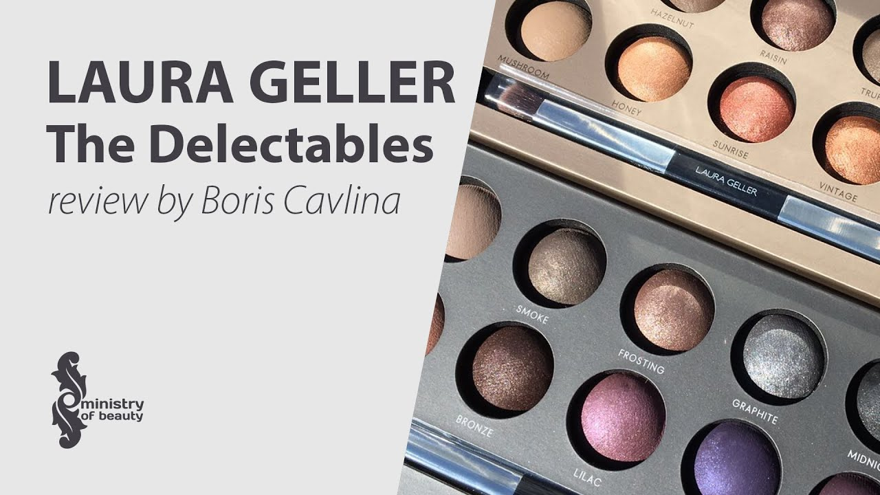 Laura Geller The Delectables Eye Shadow Palletes Review By Boris