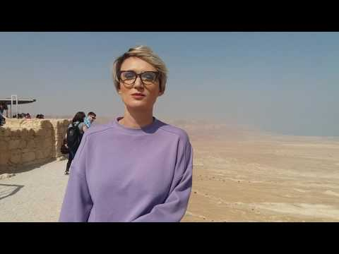 Carmen Negoiță, travel with style in Israel