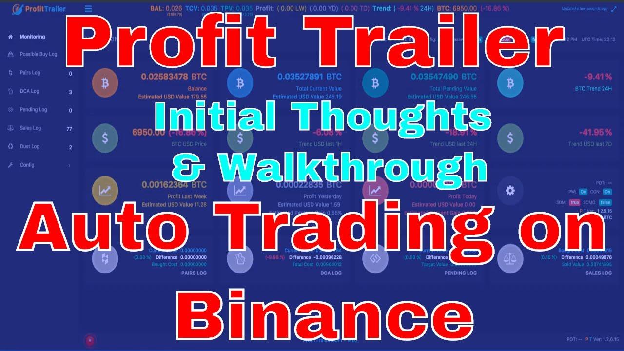 Profit trailer trading bot bittrex