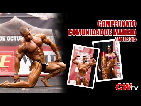 Campeonato de la Comunidad de Madrid AMCFF 2015 de Fisicoculturismo y Fitness