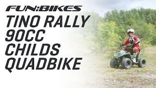Action Video: FunBikes Tino Rally 90cc Childs Quad Bike